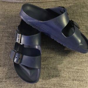Birkenstock Arizona Eva 2 strap sandals Blue 9